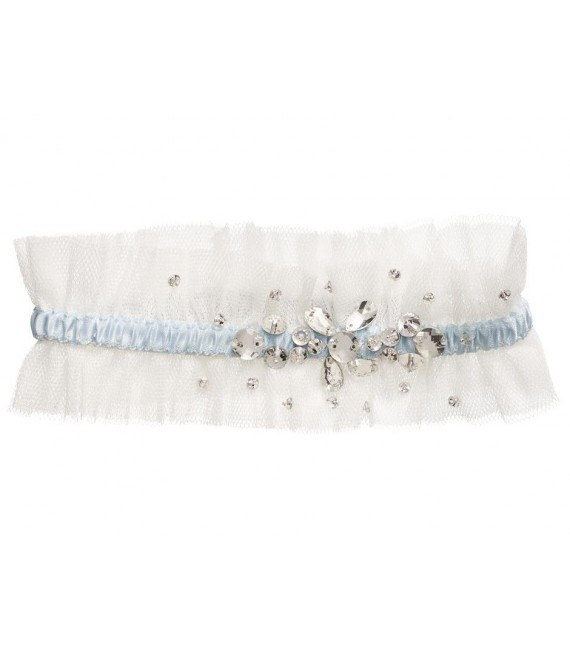 Lilly garter 12-323-CR-0 - The Beautiful Bride Shop
