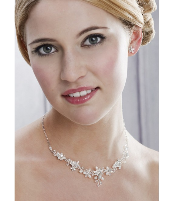 Emmerling necklace and Earrings 243 - The Beautiful Bride Shop