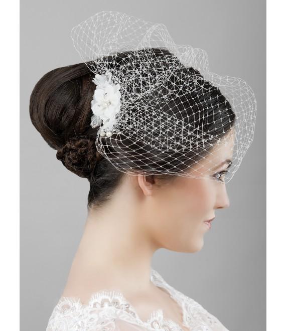 Birdcage fascinator - The Beautiful Bride Shop