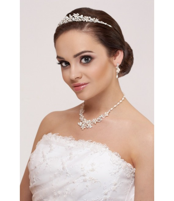 Tiara, Necklace and Earrings - The Beautiful Bride Shop
