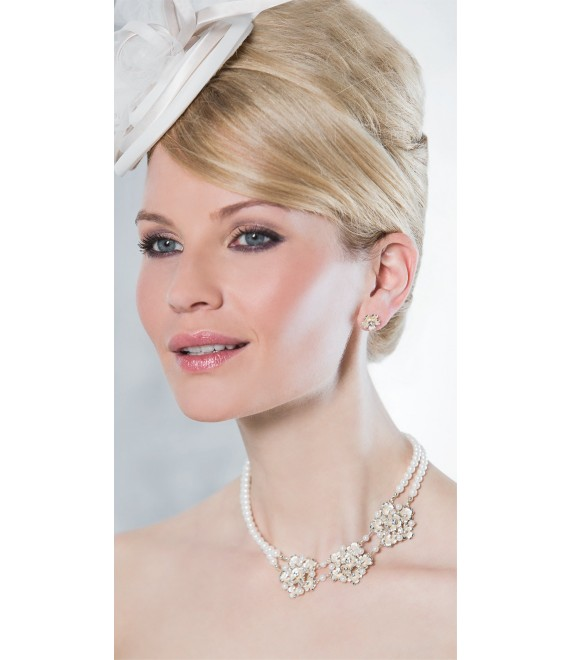 Emmerling necklace and Earrings 66180 - The Beautiful Bride shop