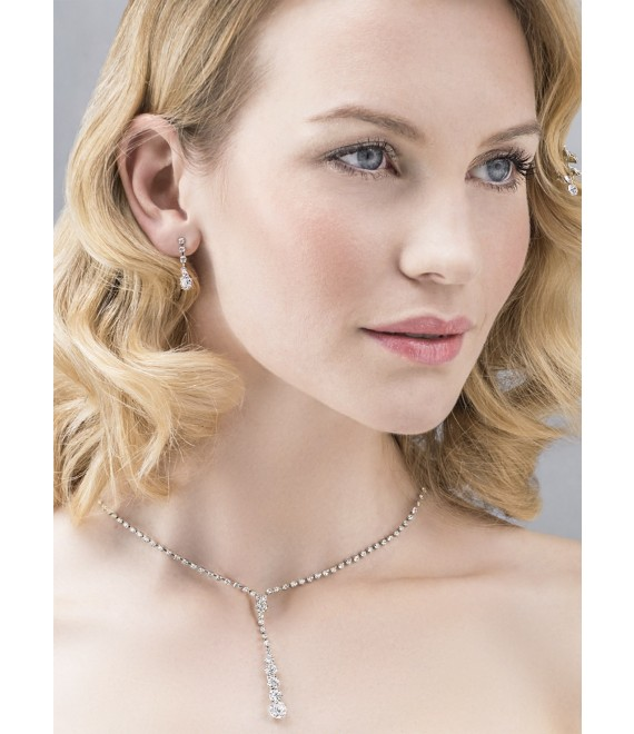 Emmerling necklace and Earrings 66206 - The Beautiful Bride shop
