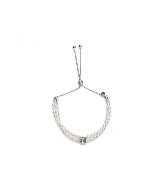 Bridal Bracelet - Abrazi AG-RND - The Beautiful Bride Shop