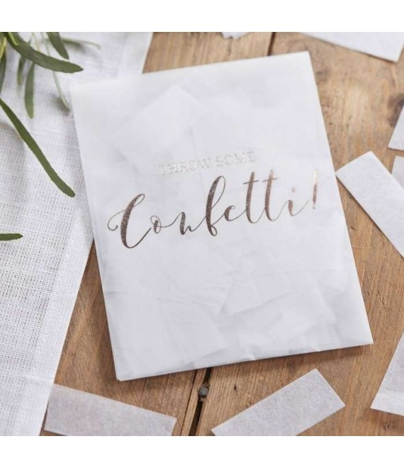 White Tissue Paper Confetti Envelopes BB-203_1