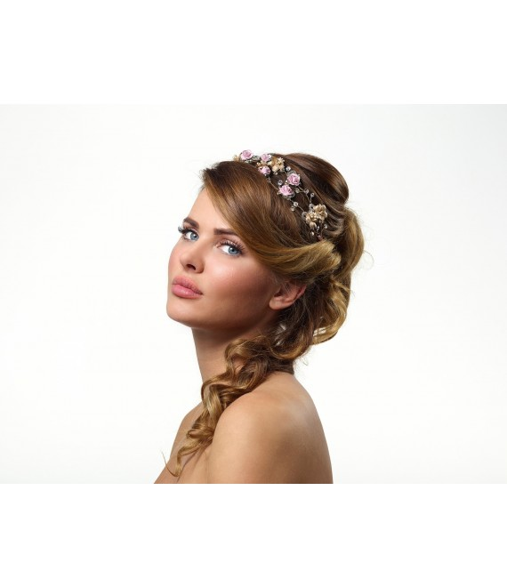 Hair Adornment BB-214 a Poirier  - The Beautiful Bride Shop