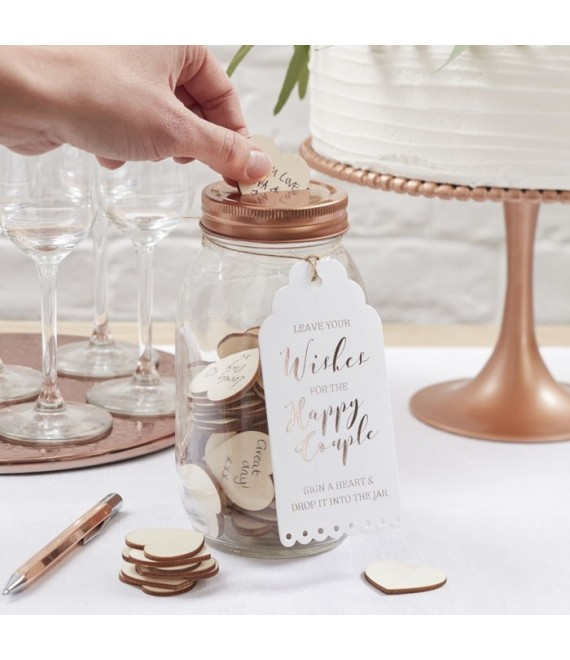 Wishing Jar Guest Book 2 - The Beautiful Bride Shop