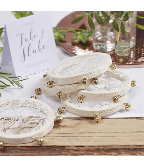 Mini Tambourines 1 -The Beautiful Bride Shop