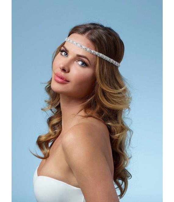 Poirier Bandana BB-8528 Haarschmuck - The Beautiful Bride Shop 1