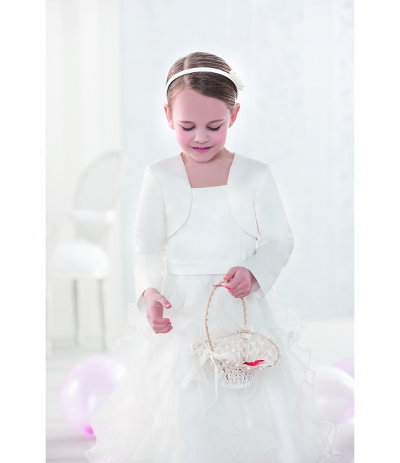 Emmerling flower girl bolero 91917 - The Beautiful Bride Shop