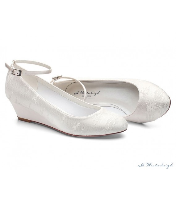 G.Westerleigh Bridal Shoes Iris 1 - The Beautiful Bride Shop
