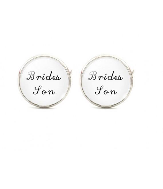 Brides son cufflinks - The Beautiful Bride Shop