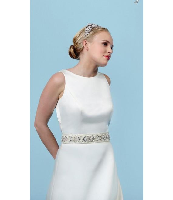 Poirier Belt C-1302 - The Beautiful Bride Shop 1