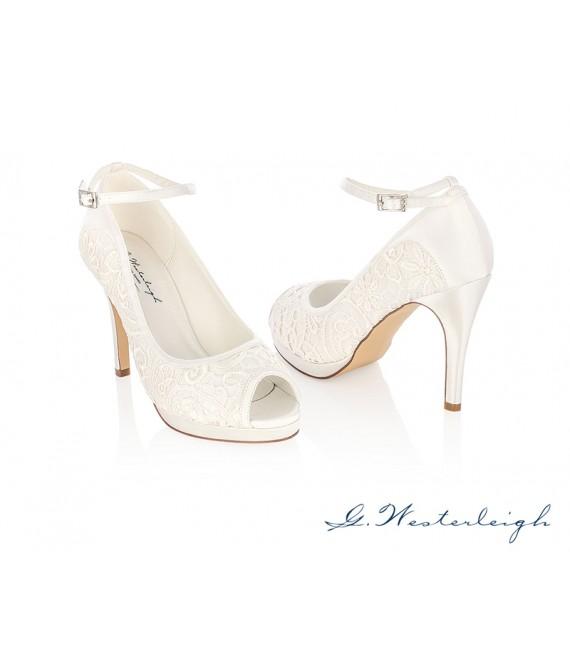 G.Westerleigh Bridal Shoes Carolina_6 - The Beautiful Bride Shop