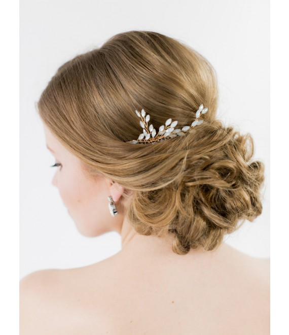 Abrazi Bridal Haircomb H2-NV OPAL