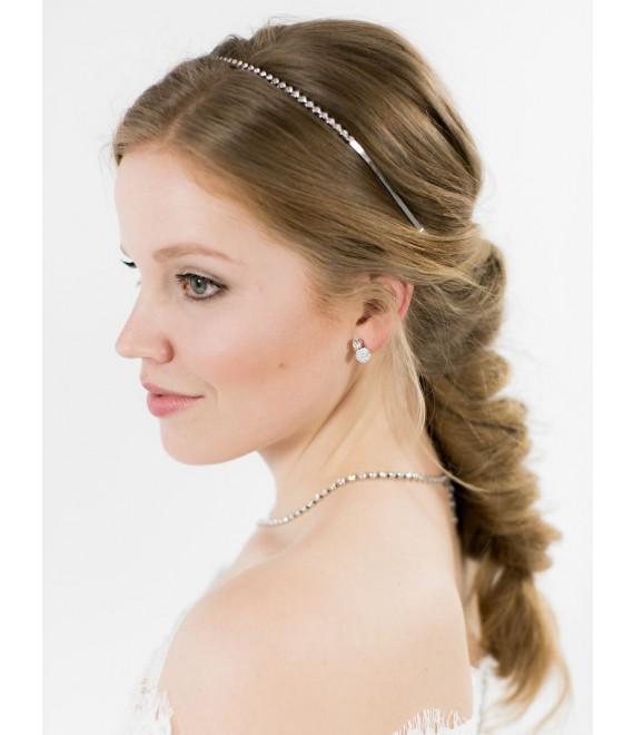 Bridal Earrings - Abrazi O6-SKT-MC 8MM