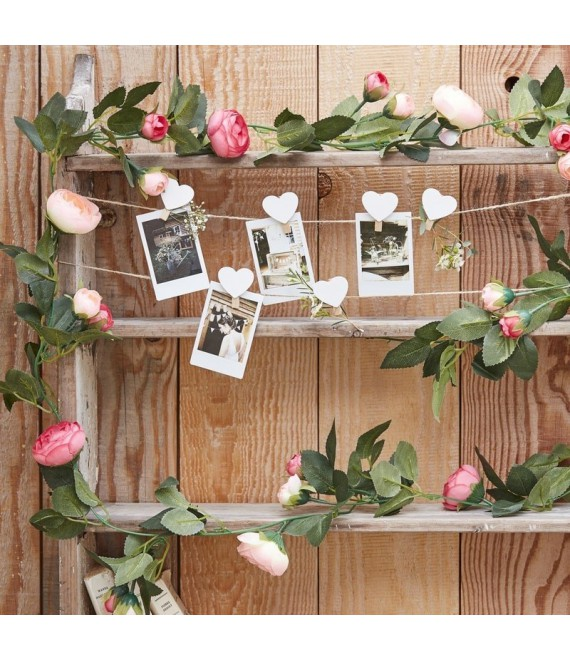 Chalkboard Wooden Cake Bunting Topper  - The Beautiful Bride Shop