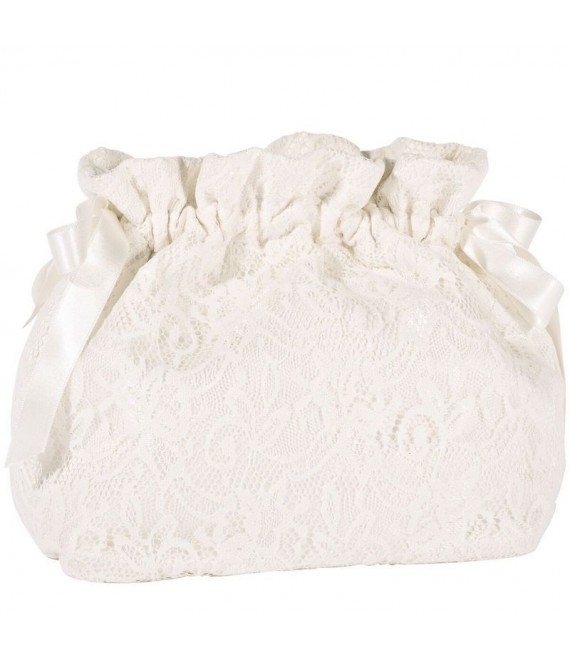 Destina Bridal Dolly Bag with drawstring | Fiarucci Bridal
