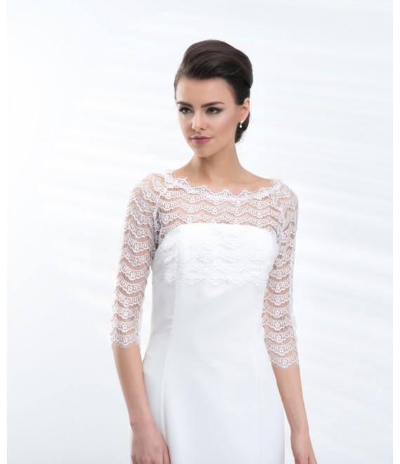 Bolero E201 - The Beautiful Bride Shop