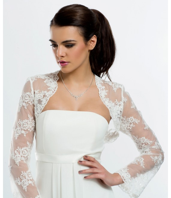 Lace Jacket E94 - The Beautiful Bride Shop