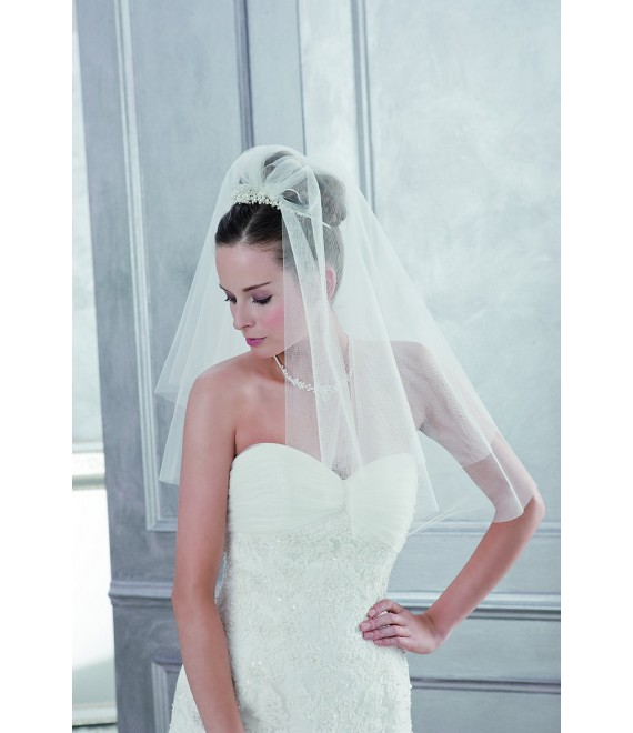 Emmerling Veil 2800-Ivory-one layer - 200 x 250 cm