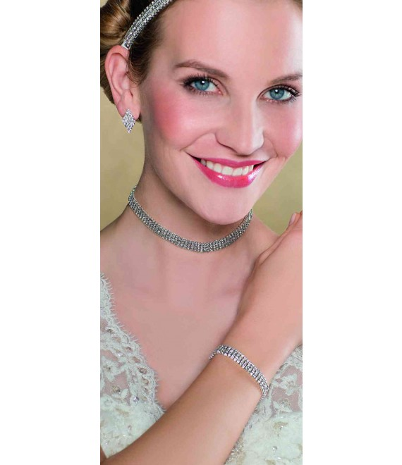 Emmerling necklace and Earrings 66213 - The Beautiful Bride shop
