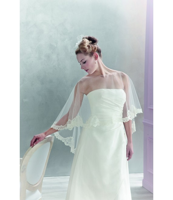 Emmerling poncho 17013 - The Beautiful Bride Shop