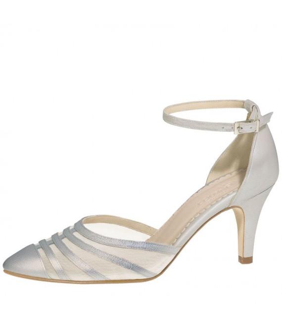 Fiarucci Bridal Wedding Shoes Cilla-Silver