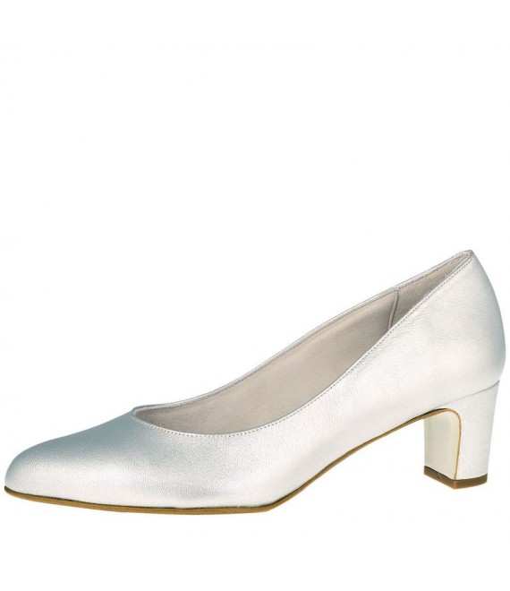 Fiarucci Bridal Wedding Shoes Palma Silver - 1