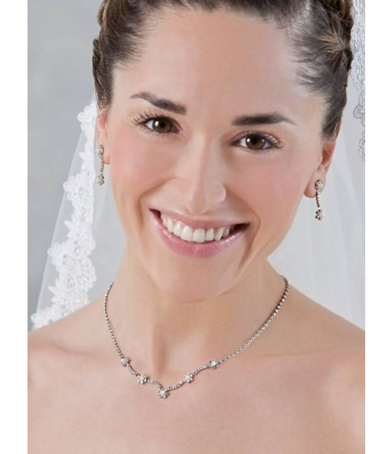 Emmerling necklace and Earrings 66191- The Beautiful Bride Shop