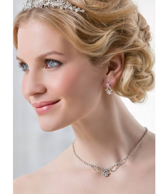 Emmerling necklace and Earrings 66193- The Beautiful Bride Shop