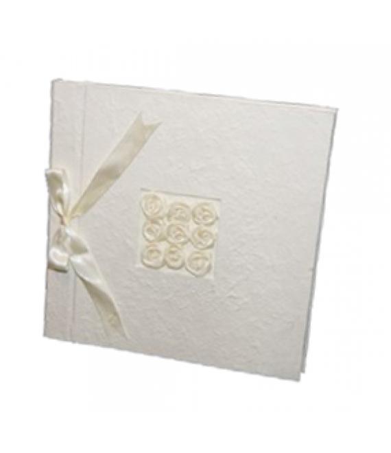 Album Satin Rose Ivory 35x35cm (645WI) - The Beautiful Bride Shop