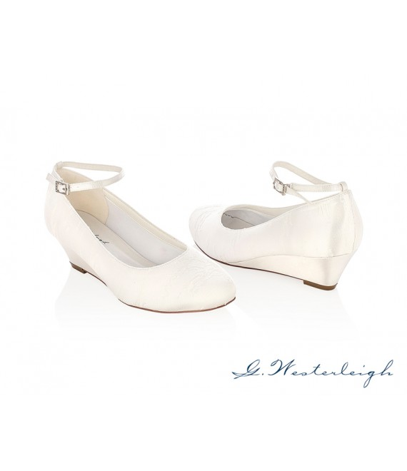 G.Westerleigh Bridal Shoes Iris_6 - The Beautiful Bride Shop
