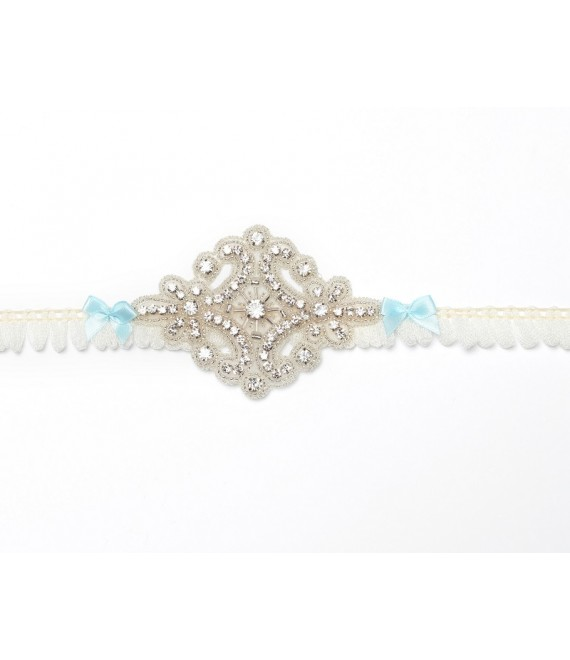 Luxury Garter KB-26 Poirier - The Beautiful Bride Shop