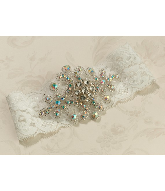 Jeweled Ivory Lillian Rose LG430I - The Beautiful Bride Shop