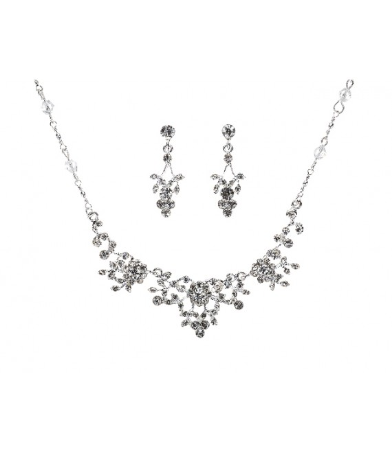 Necklace & Earrings G. Westerleigh NS-J141A -  The Beautiful Bride Shop