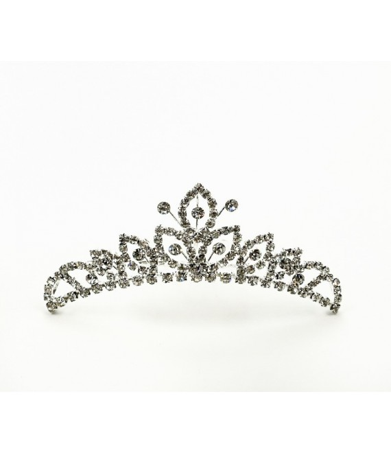 Hair comb with rhinestone | Noblesse 2247