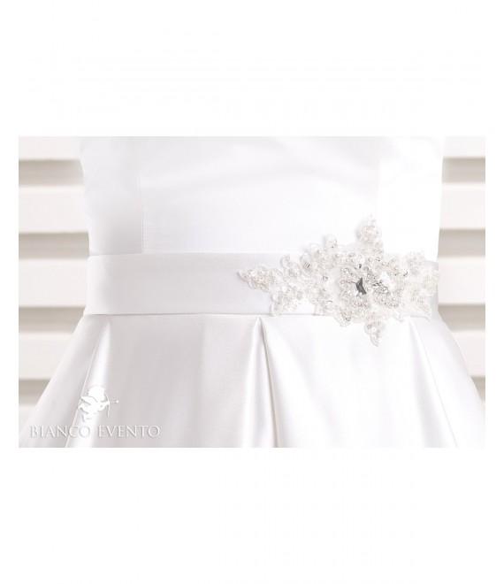 Satin bridal belt PA7 - The Beautiful Bride Shop