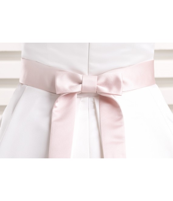 Satin bridal belt PA9 - The Beautiful Bride Shop
