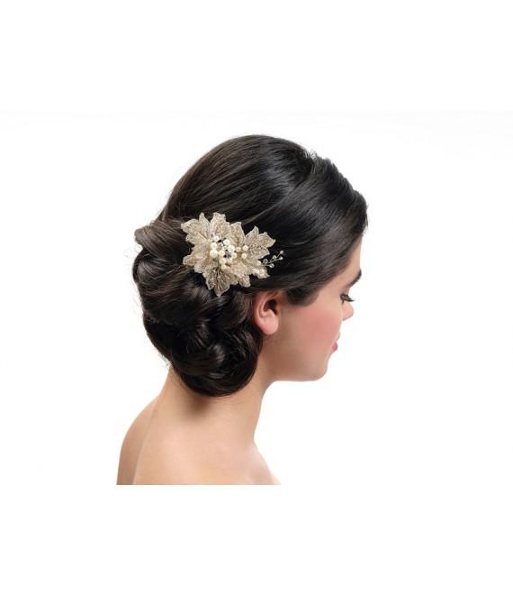 Hair comb BB-435 rose | Poirier