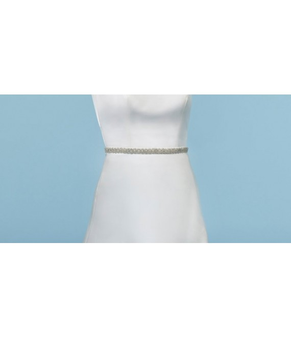 Belt; Strass C-1506 Poirier - The Beautiful Bride Shop