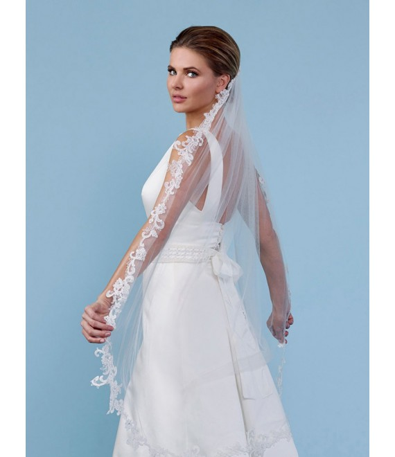 Single layer veil S248 - The Beautiful Bride Shop