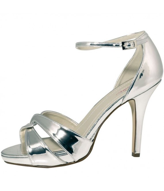 Rainbow Club Wedding Shoes Cate Silver - 1