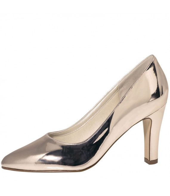 Rainbow Club Wedding Shoes Mandy Rose-Gold - 1