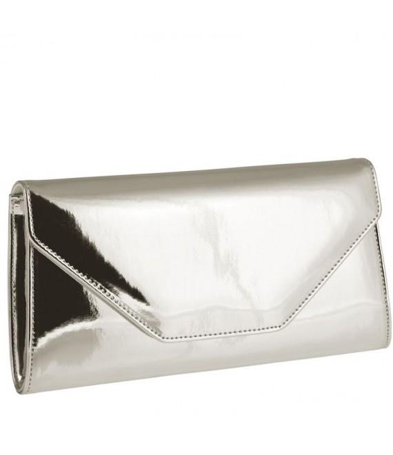 Rainbow Club Envelope Clutch Saskia Silver-Mirror