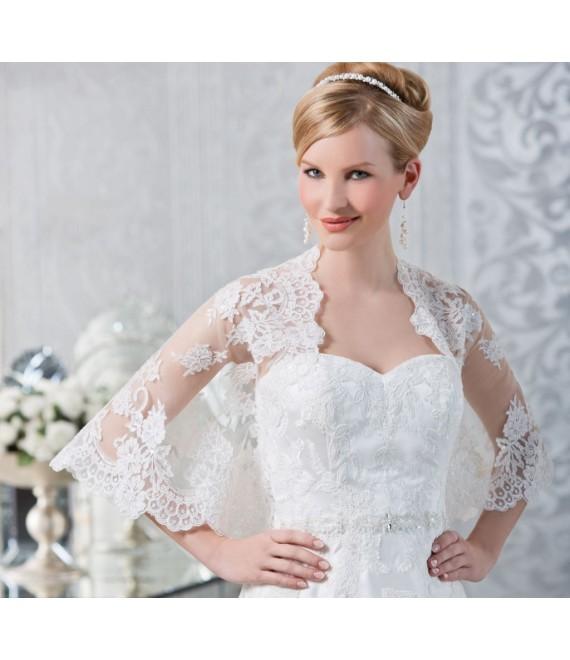 Emmerling Cape 17070 - The Beautiful Bride Shop