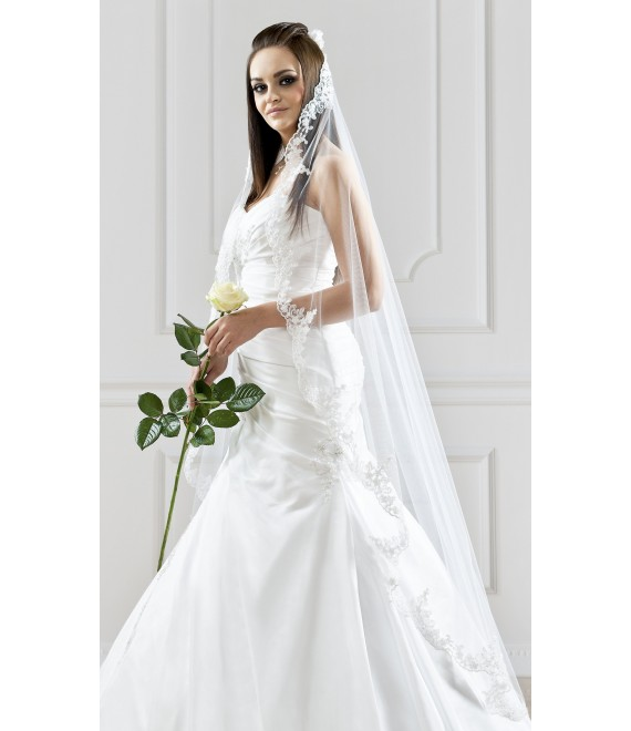 Bianco Evento Veil S102 - The Beautiful Bride Shop