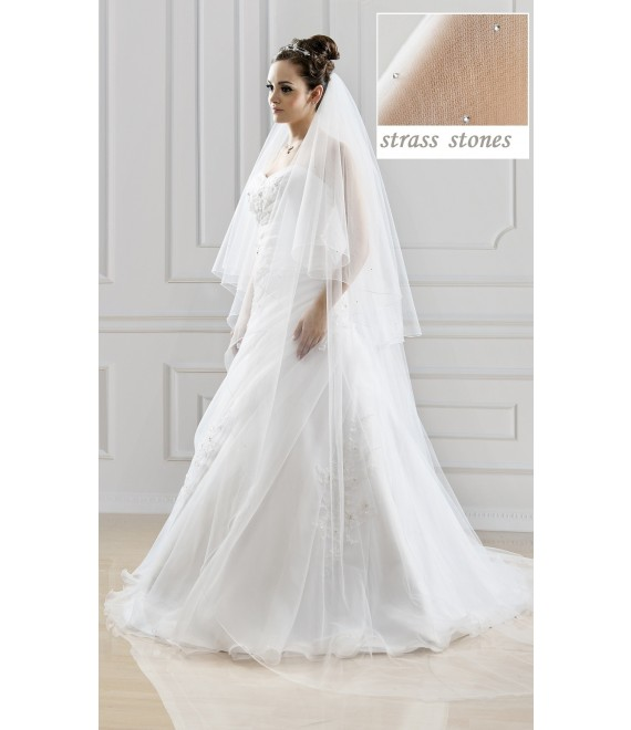 Bianco Evento Veil S125 - The Beautiful Bride Shop