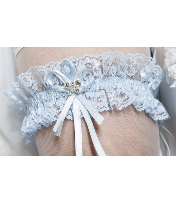 Garter Blue - The Beautiful Bride Shop
