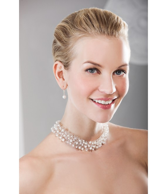 Emmerling necklace and Earrings 66166 - The Beautiful Bride shop