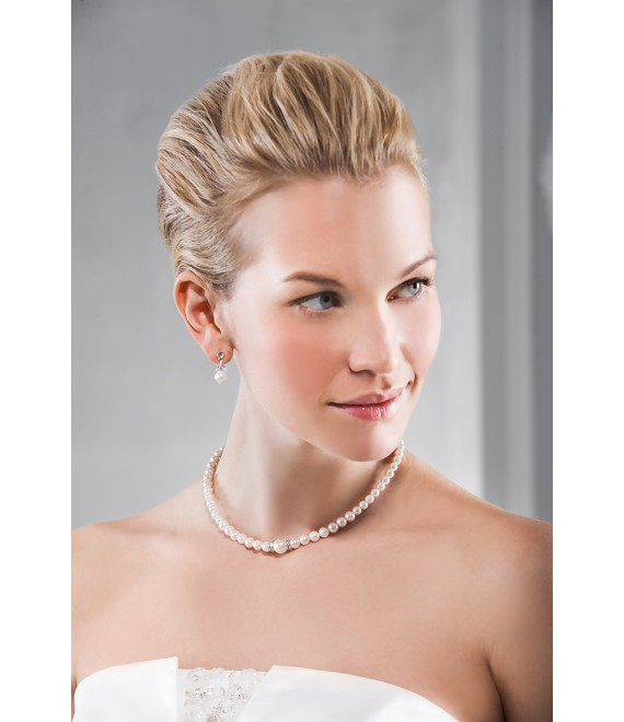 Emmerling necklace and Earrings 66168 - The Beautiful Bride shop